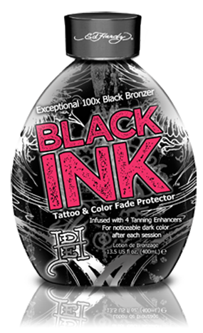 Black Ink™ Indoor Tanning Lotion by Ed Hardy Tanning: Exclusive Line